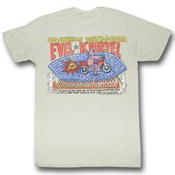 Evel Knievel - Mens So Many Stars T-Shirt