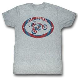 Evel Knievel - Mens Evel Brand T-Shirt