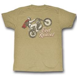 Evel Knievel - Mens Evel Wheelie T-Shirt