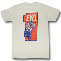 Evel Knievel - Mens Numbah One T-Shirt