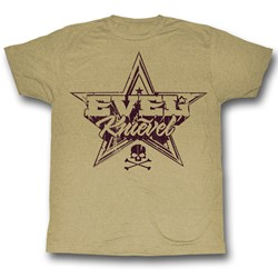 Evel Knievel - Mens Rock And Roll T-Shirt