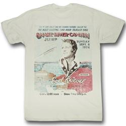 Evel Knievel - Mens Snake River T-Shirt