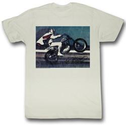 Evel Knievel - Mens Live T-Shirt