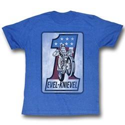 Evel Knievel - Mens One Square T-Shirt