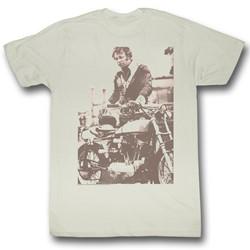 Evel Knievel - Mens Sepia T-Shirt