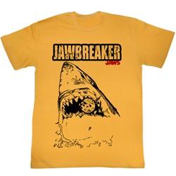 Jaws - Mens Jawbreaker T-Shirt in Mustard