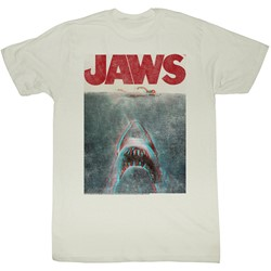 Jaws - Mens In Terrifying 3D T-Shirt