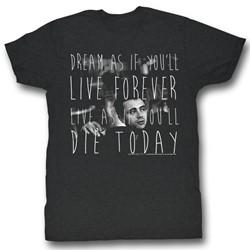 James Dean - Mens Die Today T-Shirt