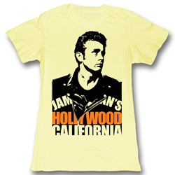 James Dean - Womens Blacked Out T-Shirt