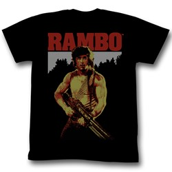Rambo - Mens Real Rambo T-Shirt