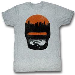 Robocop - Mens Sunset Over Delta City T-Shirt