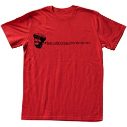 Red Foxx - Mens Racks T-Shirt in Red
