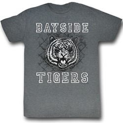 Saved By The Bell - Mens Schoolyard Tigers T-Shirt