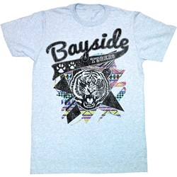 Saved By The Bell - Mens Aztec Tigers T-Shirt