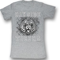 Saved By The Bell - Womens Schoolyard Tigers T-Shirt
