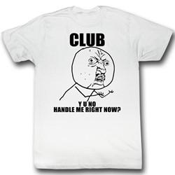 Y U No - Mens Drew T-Shirt