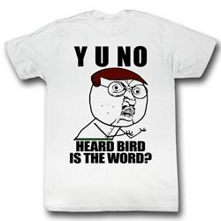 Y U No - Mens Bird T-Shirt