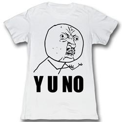 Y U No - Womens Yu…..? T-Shirt