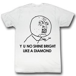 Y U No - Mens Like It T-Shirt