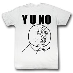 Y U No - Mens Raise The Roof T-Shirt
