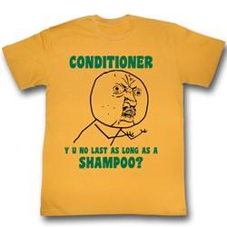 Y U No - Mens Shampoo T-Shirt