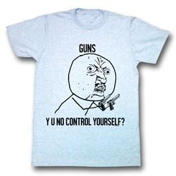 Y U No - Mens Fun Control T-Shirt