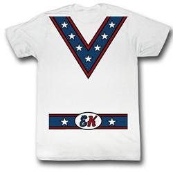Evel Knievel - Costume Tee T-Shirt