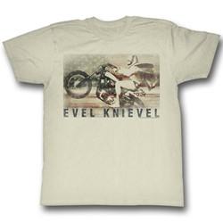 Evel Knievel - Mens Ameriknievel T-Shirt