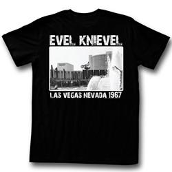 Evel Knievel - Mens Super Evel T-Shirt