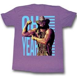 Macho Man - Mens Oh Yeah T-Shirt