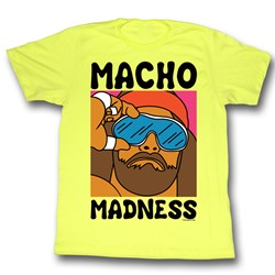 Macho Man - Mens Wild Life T-Shirt