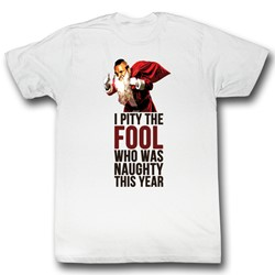 Mr. T - Mens Naughty Fool T-Shirt