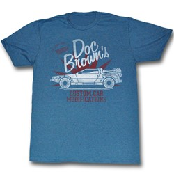 Back To The Future - Mens Custom Stuff T-Shirt