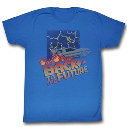 Back To The Future - Mens Nes Cover T-Shirt