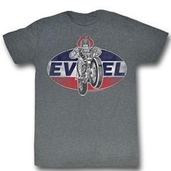 Evel Knievel - Mens Logo2 T-Shirt