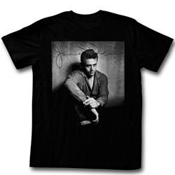 James Dean - Mens He'S Dark N Stuff T-Shirt