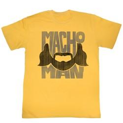 Macho Man - Mens Beard Words T-Shirt