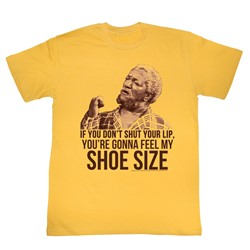 Red Foxx - Mens Shoe Size T-Shirt