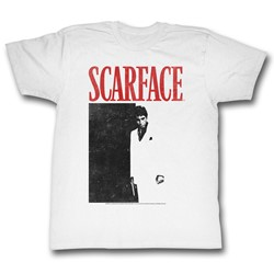 Scarface - Mens Black And Red T-Shirt