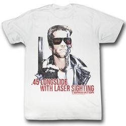 Terminator - Mens Laser Sighting T-Shirt