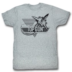 Top Gun - Mens Black T-Shirt