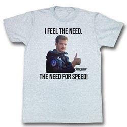 Top Gun - Mens Feel The Need T-Shirt
