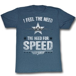 Top Gun - Mens Need For Speed T-Shirt
