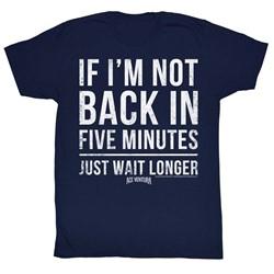 Ace Ventura - Mens 5 Minutes T-Shirt