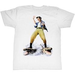 Ace Ventura - Mens Croc Surfin' T-Shirt