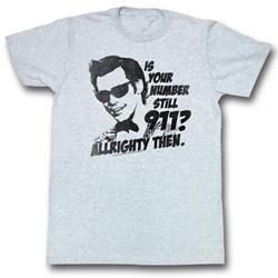 Ace Ventura - Mens Nine One One T-Shirt