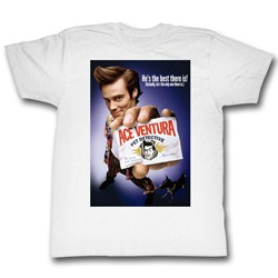 Ace Ventura - Mens Color Poster T-Shirt