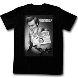 Ace Ventura - Mens B&W Poster T-Shirt