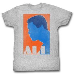 Muhammad Ali - Mens Orange And Blue T-Shirt