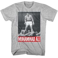 Muhammad Ali - Mens Standing Over T-Shirt